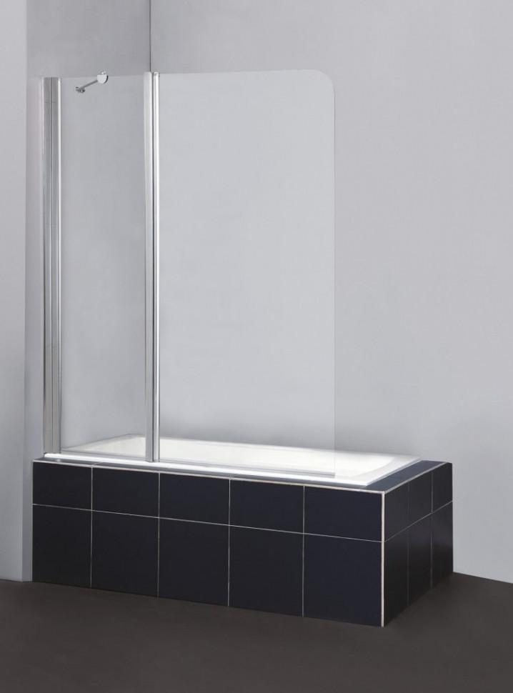 Шторка для ванны BelBagno Sela 120 см текстурное стекло SELA-V-11-120/140-Ch-Cr-L джинсы sela sela se001emdqge1