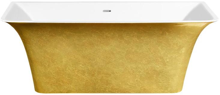 Акриловая ванна 160,5х77 см Lagard Evora Treasure Gold lgd-evr-tg светильник на штанге arlight lgd 2282 lgd 2282bk 45w 4tr white 24deg