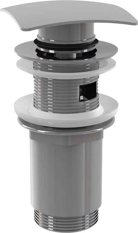 Фото - Донный клапан с переливом ClickClack AlcaPlast A393 донный клапан с переливом raiber rlbt 58