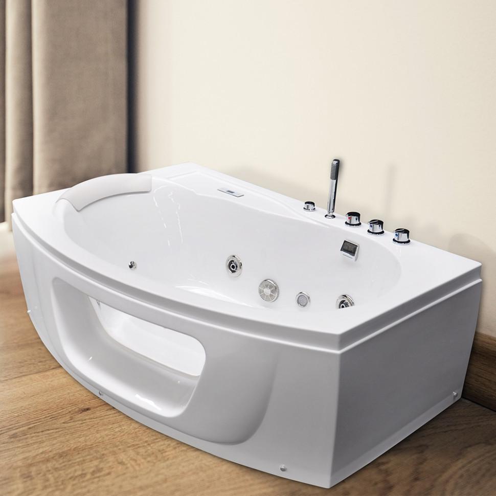 Акриловая гидромассажная ванна 160х100 см Grossman GR-16010L фото