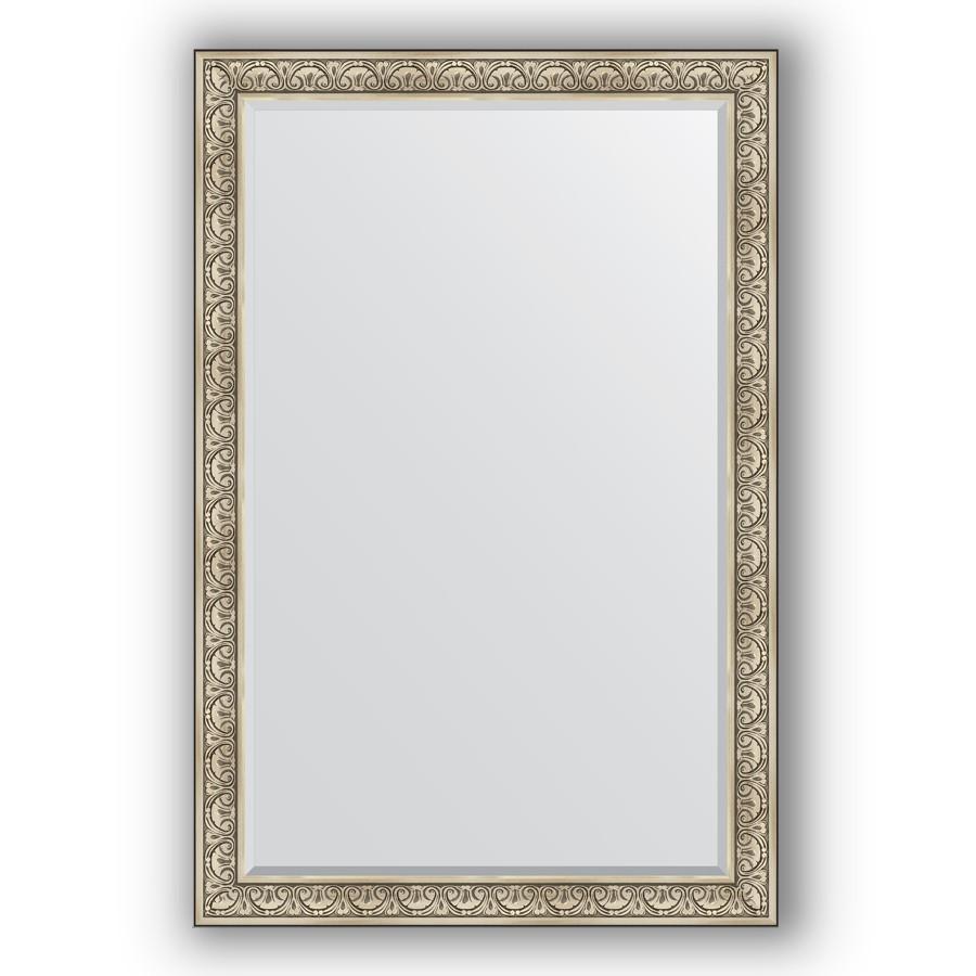 Зеркало 120х180 см барокко серебро Evoform Exclusive BY 3632