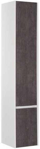 Пенал подвесной правый белый/дуб антик Aquanet Коста 00188408