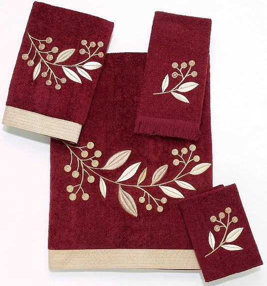 Полотенце для рук 46х28 см Avanti Madison 019712BRK полотенца кухонные avanti полотенце для рук мини jasmine