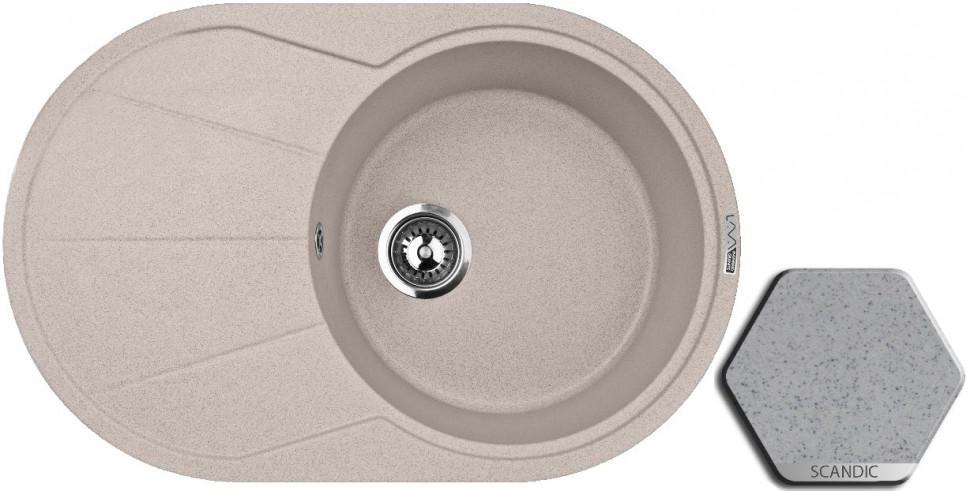 Кухонная мойка SCANDIC Lava E3.SCA цена и фото