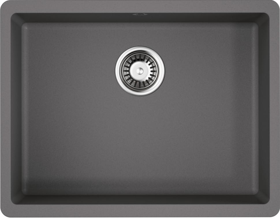 Фото - Кухонная мойка ленинградский серый Artgranit Omoikiri Kata 54-U-GR кухонная мойка ленинградский серый artgranit omoikiri kata 54 u gr