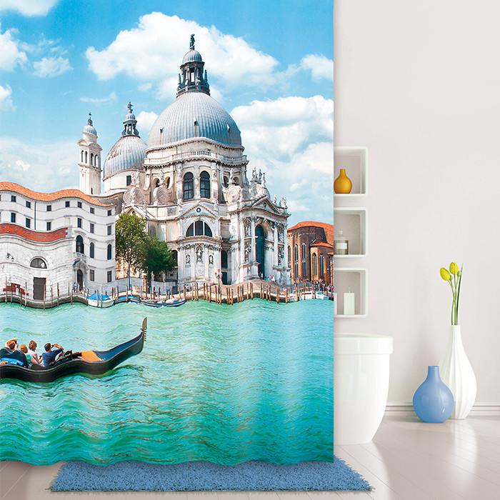Штора для ванной комнаты IDDIS Venice moments 540P18RI11 цена