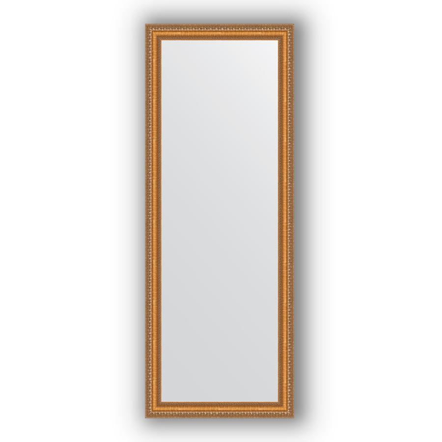 Зеркало 55х145 см золотые бусы на бронзе Evoform Definite BY 3106 зеркало evoform definite 155х75 золотые бусы на бронзе