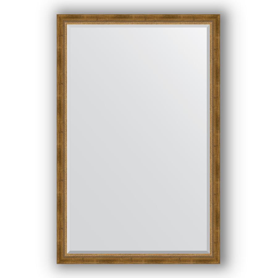 Зеркало 113х173 см состаренное бронза с плетением Evoform Exclusive BY 3614