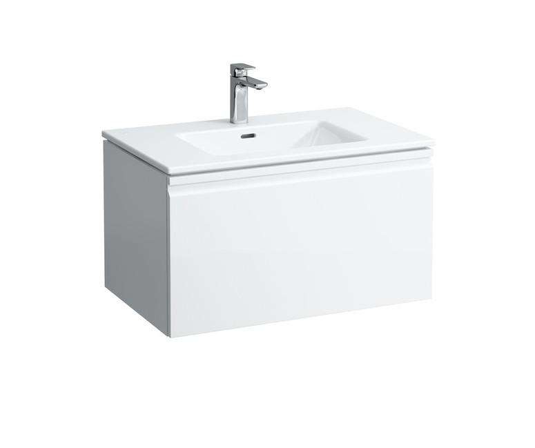цены на Тумба с раковиной белый матовый 80 см Laufen Pro S 8609644631041 в интернет-магазинах