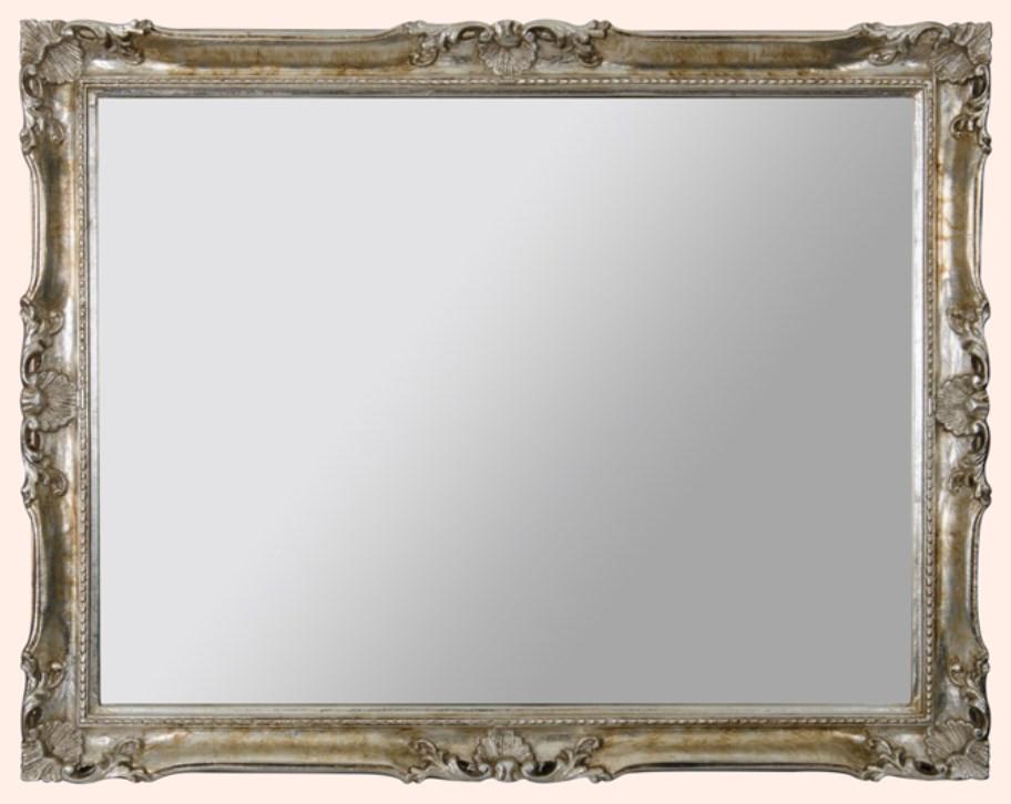 Зеркало 92х72 см серебро Eban Luigi XV FCRLG092A фото
