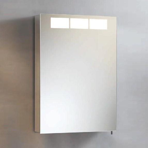 Зеркальный шкаф левосторонний с люминесцентной подсветкой 50,5х70 см KEUCO Royal T1 12601171201