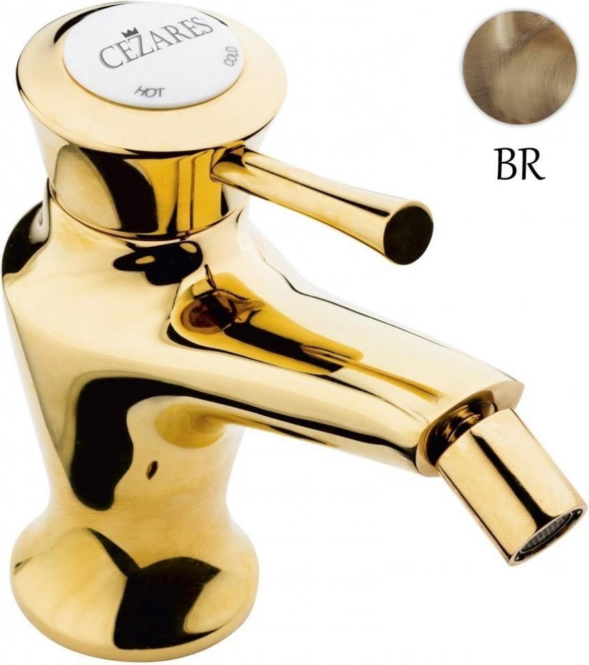 Смеситель для биде с донным клапаном Cezares Giubileo GIUBILEO-BSM1-02