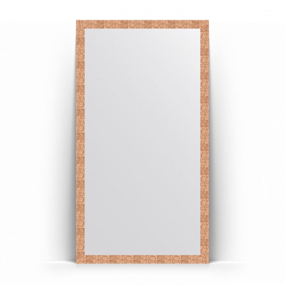 Зеркало напольное 108х197 см соты медь Evoform Definite Floor BY 6016