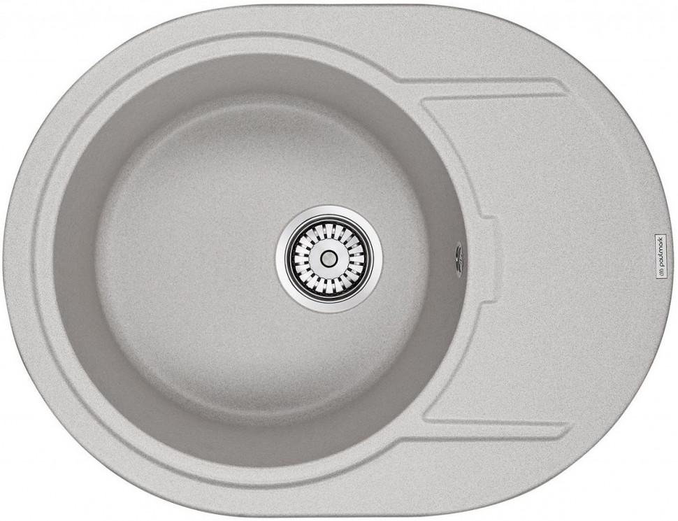 Кухонная мойка Paulmark Oval серый PM316502-GR