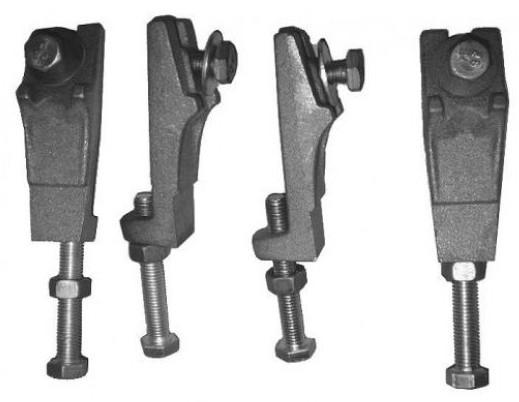 Комплект ножек для чугунной ванны Roca 150412330 фото