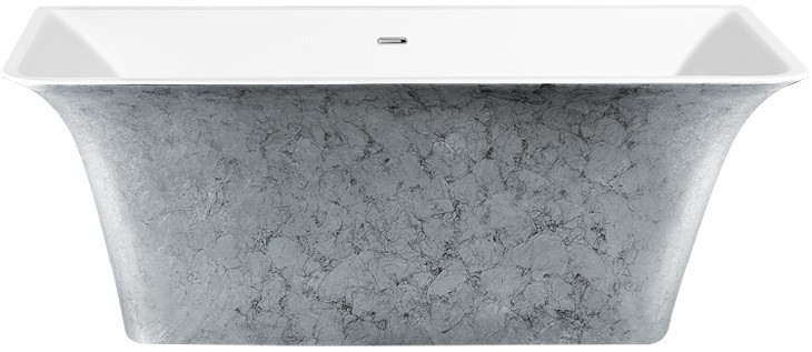 Акриловая ванна 160,5х77 см Lagard Evora Treasure Silver lgd-evr-ts светильник на штанге arlight lgd 2282 lgd 2282bk 45w 4tr white 24deg