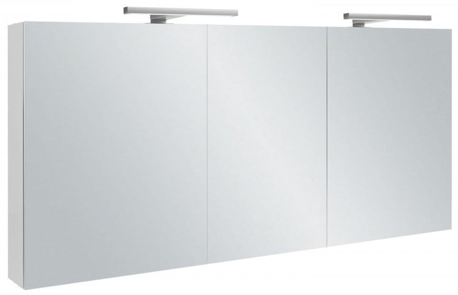 Зеркальный шкаф 140х65 см белый блестящий Jacob Delafon EB1370-G1C