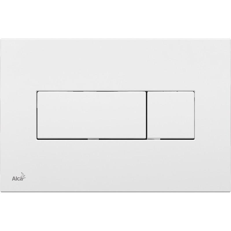 Смывная клавиша белый для двойного смыва AlcaPlast M370