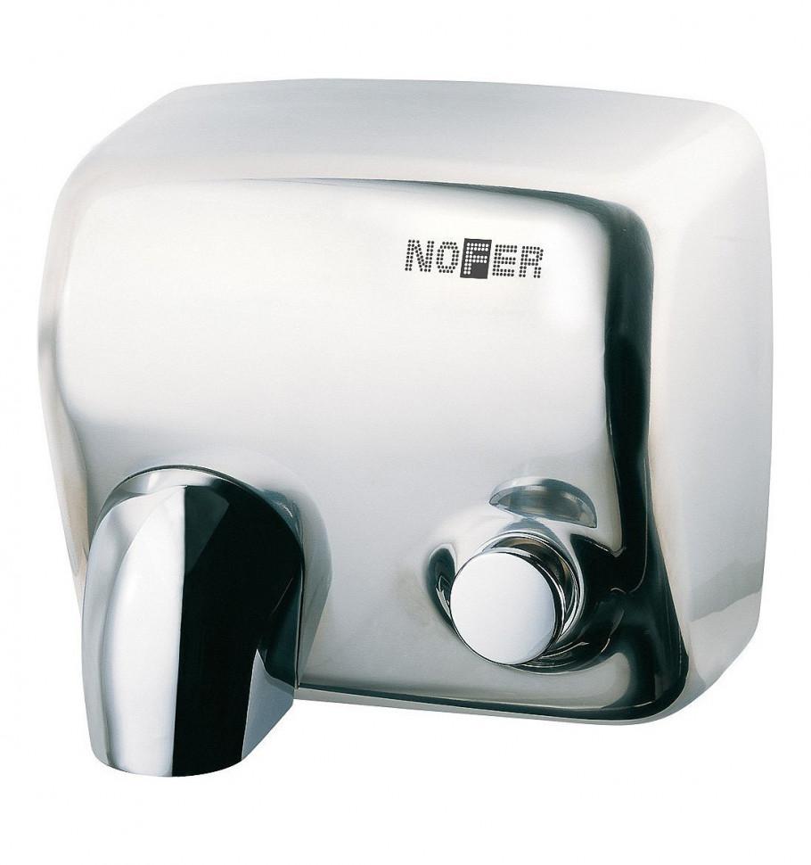Сушилка для рук хром Nofer Cyclon 01100.B автоматическая сушилка для рук nofer kai 1500 w глянцевая 01251 b