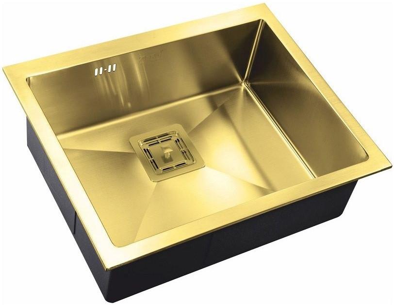 цена на Кухонная мойка Zorg Inox PVD SZR-5844 BRONZE