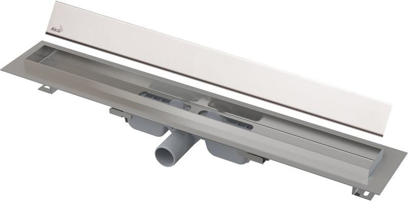 Душевой канал 544 мм глянцевый хром AlcaPlast APZ106 Design APZ106-550 + DESIGN-550LN душевой канал 744 мм alcaplast apz106 apz106 750