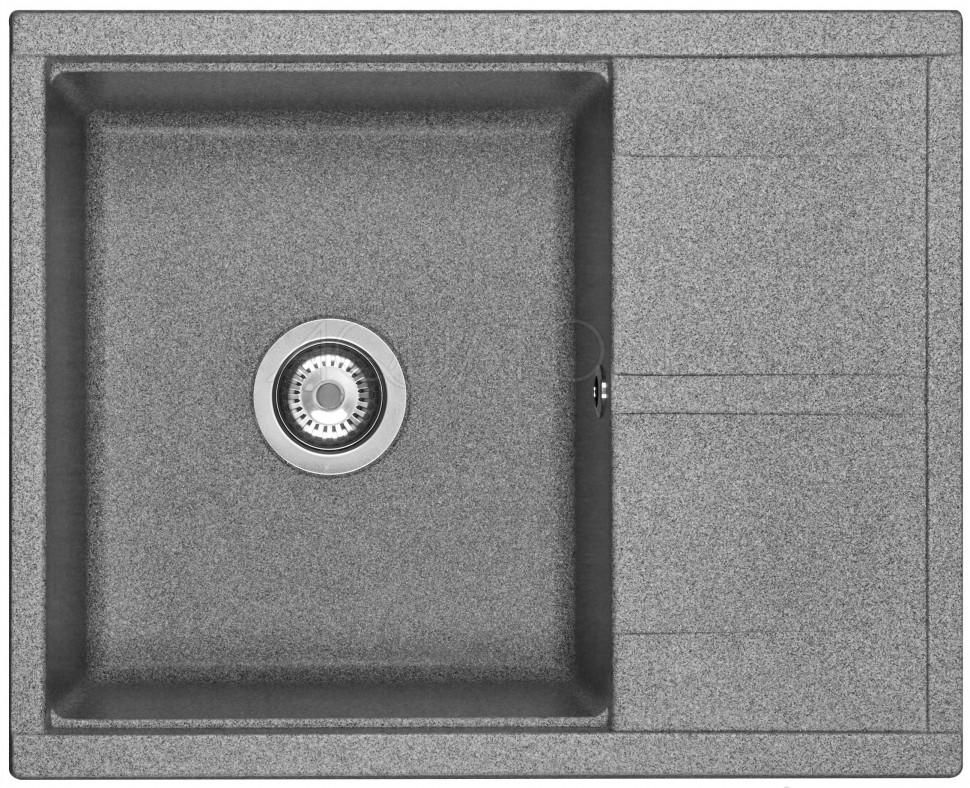Кухонная мойка Акватон Делия серый 1A718632DE230 кухонная мойка акватон делия латте 1a718632de260