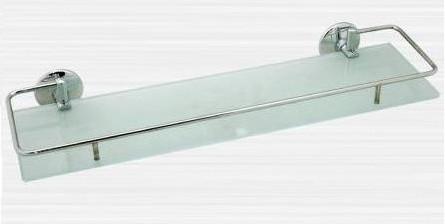 Полка стеклянная с бортиком 60 см Rainbowl Otel 2553-2 полка стеклянная с бортиком 50 см rainbowl otel 2553 1