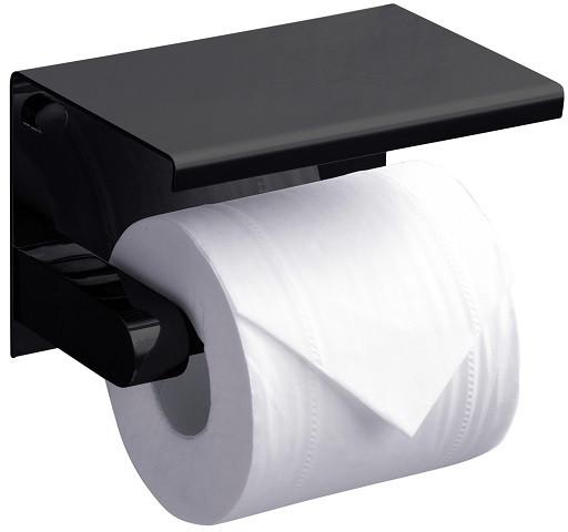 лучшая цена Держатель туалетной бумаги Rush Edge ED77141Black