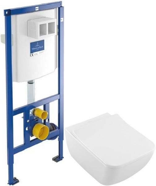 Комплект подвесной унитаз Villeroy & Boch Legato 5663RS01 + система инсталляции Villeroy & Boch 92246100 фото