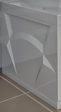 Торцевая панель левая 77 см Vannesa Роза 2-31-0-1-0-208