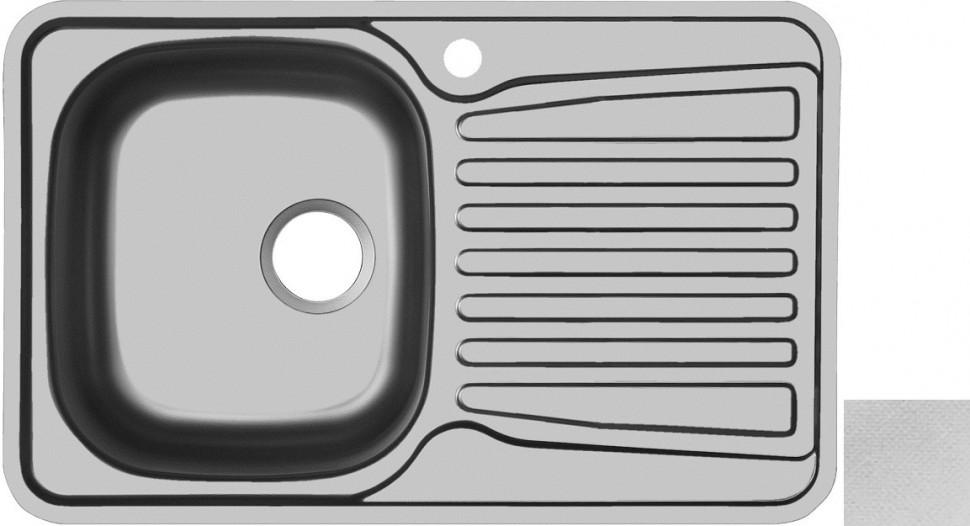 Кухонная мойка декоративная сталь Ukinox Комфорт COL780.480 -GT6K 2L кухонная мойка ukinox fap 770 480 gt6k 2l