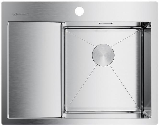 Кухонная мойка нержавеющая сталь Omoikiri Akisame 65-IN-R недорого