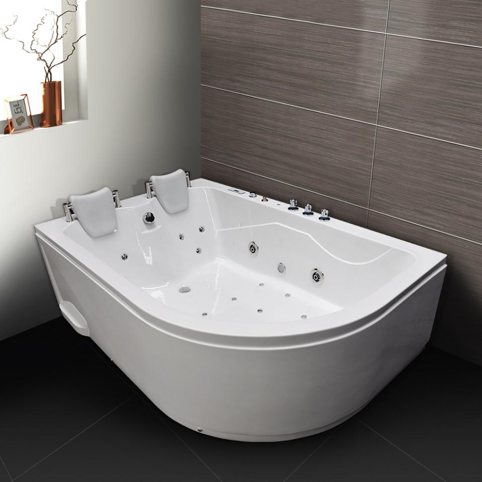Акриловая гидромассажная ванна 180х120 см Grossman GR-18012L