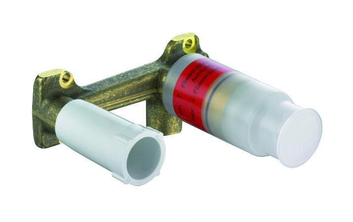 Фото - Встраиваемый комплект для смесителя для раковины Kludi Ambienta 38243 смеситель для раковины kludi bozz встраиваемый для 38243 хром 382440576