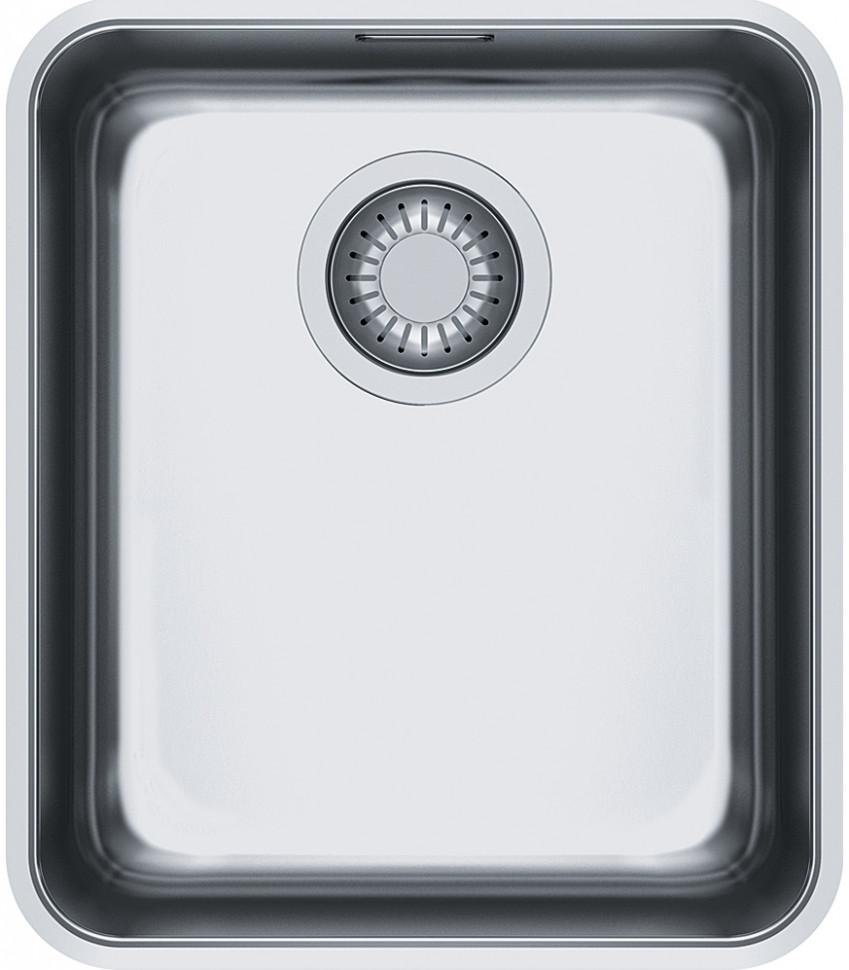 Кухонная мойка Franke Aton ANX 110-34 полированная сталь 122.0204.647 franke kbx 110 34 нерж сталь зеркальная