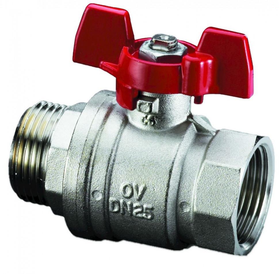 Кран шаровой 1/2 Oventrop Optibal 1076304 кран шаровой 1 oventrop optibal 1078008