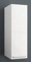 Шкаф одностворчатый белый глянец/белый матовый Kolpa San Jolie J902 WH цены