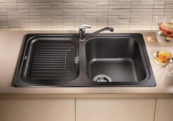 Кухонная мойка Blanco Classic 45S Антрацит 521308 кухонная мойка blanco classic 9e антрацит