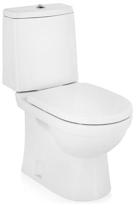 Фото - Унитаз-компакт с сиденьем микролифт Sanita Luxe Next SL900003 унитаз компакт sanita luxe best lux 2ой смыв с сиденьем sl900302 d