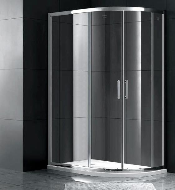 Душевой уголок 100х80 см Gemy Victoria S30222 прозрачное