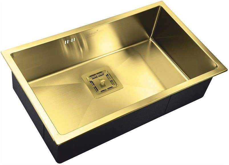 Кухонная мойка Zorg Inox PVD SZR-7444 BRONZE