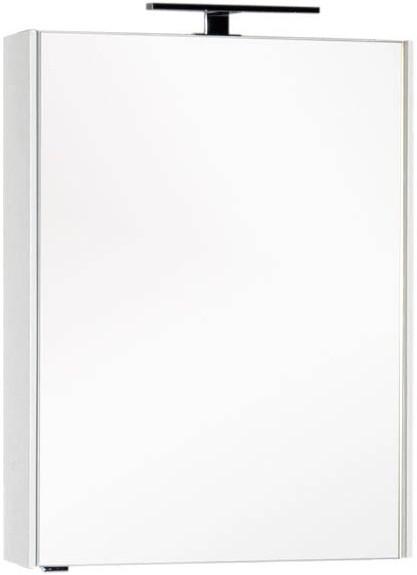 Зеркальный шкаф 64,5х85,1 см белый Aquanet Тулон 00183391 зеркальный шкаф 64 5х85 1 см белый aquanet тулон 00183391