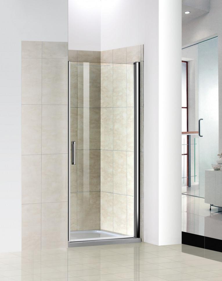 Душевая дверь 80 см Good Door Pandora DR80(L/R)-C-CH прозрачное