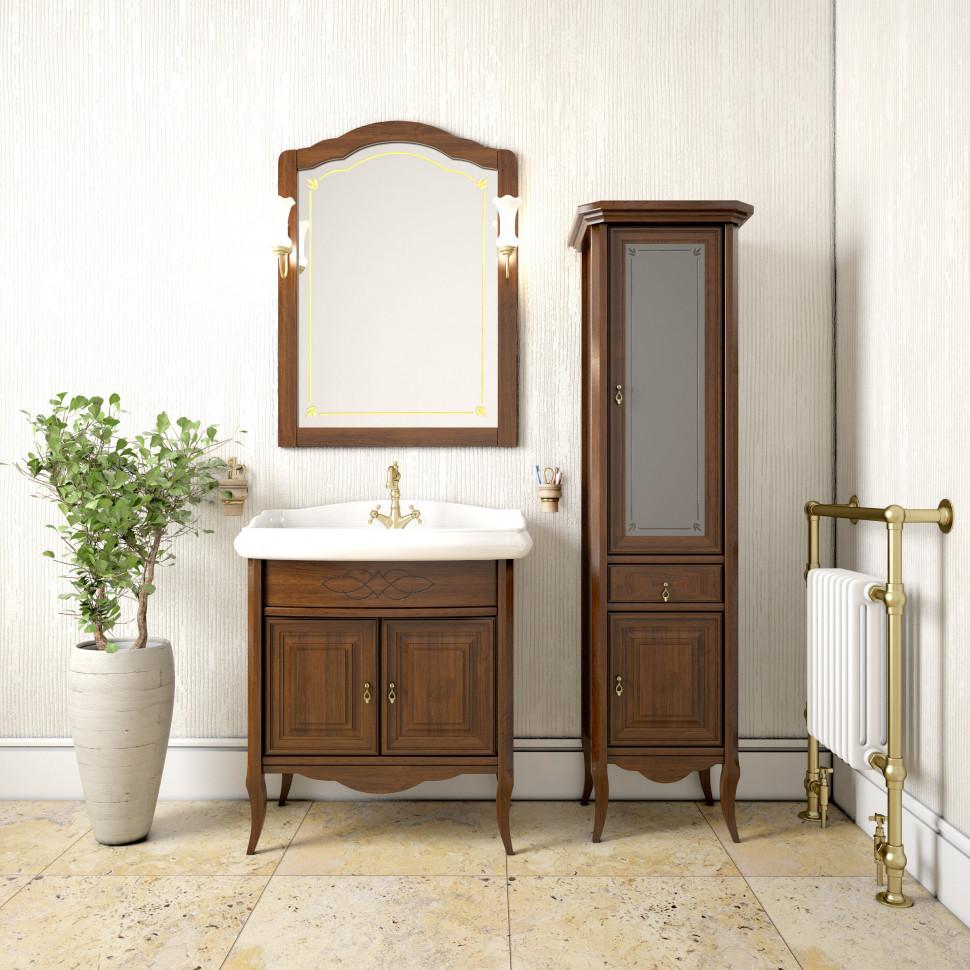 Комплект мебели светлый орех 80 см Opadiris Лоренцо LORENCO80KOMP10LOR