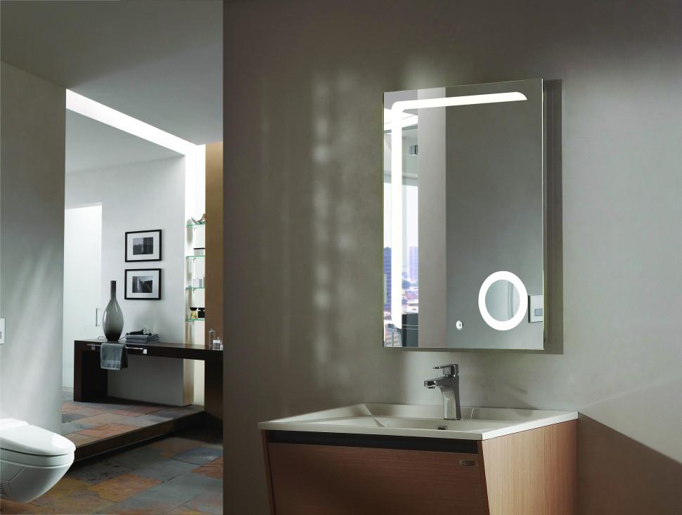 Зеркало с подсветкой 60х80 см Esbano ES-2417HD