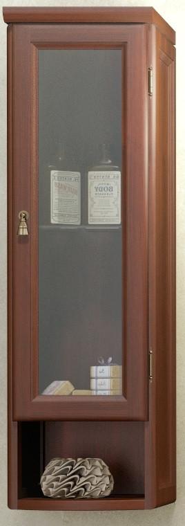 Шкаф одностворчатый подвесной орех антикварный Opadiris Клио Z0000001520