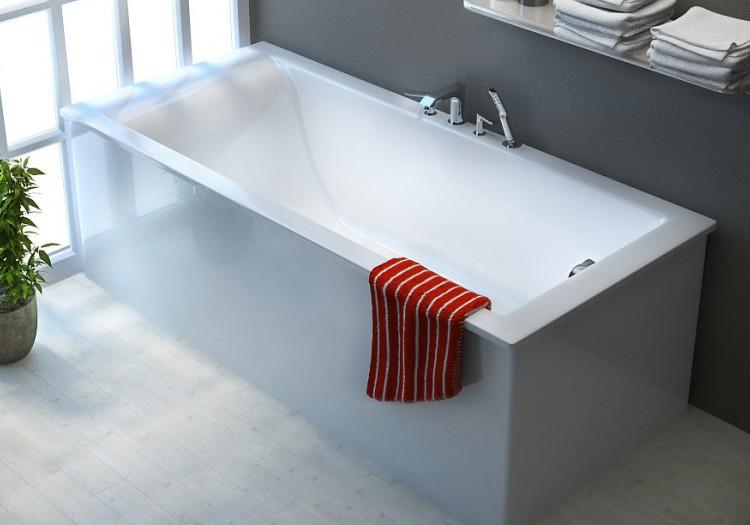 Ванна из литого мрамора 170х80 см Astra-Form Нейт 010115