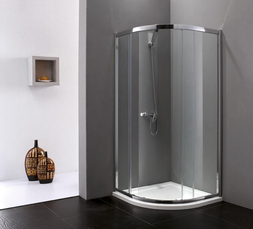 Душевой уголок Cezares Anima 90x90 см текстурное стекло ANIMA-W-R-1-90-P-Cr