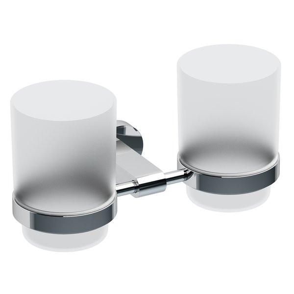 Двойной держатель с двумя стаканами Ravak Chrome CR 220.00