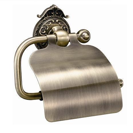 Держатель туалетной бумаги с крышкой Hayta Classic Bronze 13903-4/BRONZE haiba hb4419 4 bronze